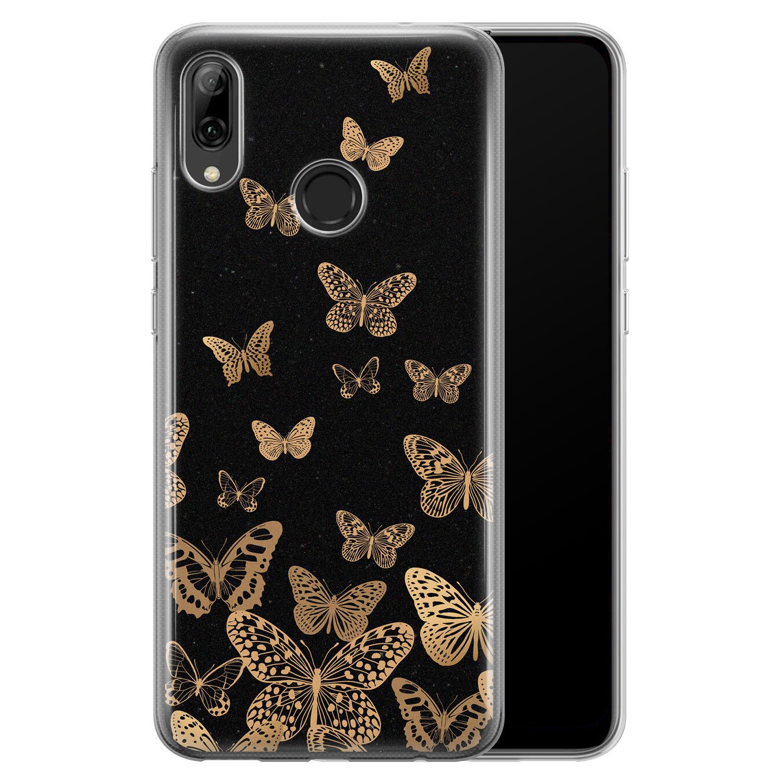 Leuke Telefoonhoesjes Huawei P Smart 2019 siliconen hoesje - Vlinders