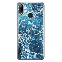 Leuke Telefoonhoesjes Huawei P Smart 2019 siliconen hoesje - Ocean blue