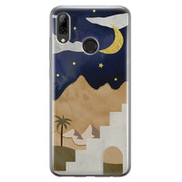 Huawei P Smart 2019 siliconen hoesje - Desert night