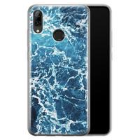 Huawei P Smart 2019 siliconen hoesje - Ocean blue