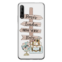 Huawei P Smart Pro siliconen hoesje - Where to go next