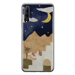 Huawei P Smart Pro siliconen hoesje - Desert night