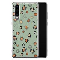 Huawei P30 siliconen hoesje - Baby leo