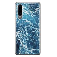Huawei P30 siliconen hoesje - Ocean blue