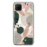 Huawei P40 Lite siliconen hoesje - Abstract print