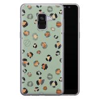 Samsung Galaxy A8 2018 siliconen hoesje - Baby leo