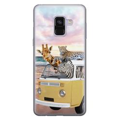 Leuke Telefoonhoesjes Samsung Galaxy A8 2018 siliconen hoesje - Wanderlust