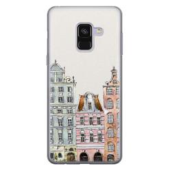 Leuke Telefoonhoesjes Samsung Galaxy A8 2018 siliconen hoesje - Grachtenpandjes