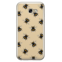 Samsung Galaxy A5 2017 siliconen hoesje - Bee happy