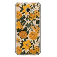 Samsung Galaxy A5 2017 siliconen hoesje - Retro flowers