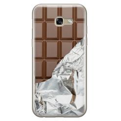 Leuke Telefoonhoesjes Samsung Galaxy A5 2017 siliconen hoesje - Chocoladereep