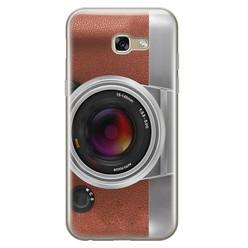Leuke Telefoonhoesjes Samsung Galaxy A5 2017 siliconen hoesje - Vintage camera