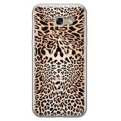 Leuke Telefoonhoesjes Samsung Galaxy A5 2017 siliconen hoesje - Wild animal