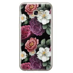 Leuke Telefoonhoesjes Samsung Galaxy A5 2017 siliconen hoesje - Bloemenliefde