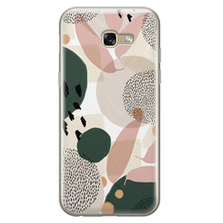 Samsung Galaxy A5 2017 siliconen hoesje - Abstract print