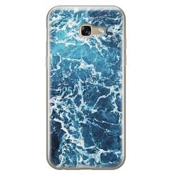 Leuke Telefoonhoesjes Samsung Galaxy A5 2017 siliconen hoesje - Ocean blue