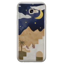 Samsung Galaxy A5 2017 siliconen hoesje - Desert night