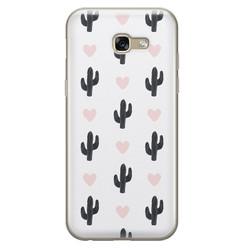 Samsung Galaxy A5 2017 siliconen hoesje - Cactus love