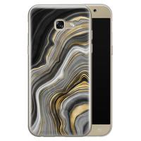 Samsung Galaxy A5 2017 siliconen hoesje - Golden agate