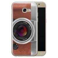 Samsung Galaxy A5 2017 siliconen hoesje - Vintage camera