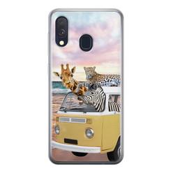 Leuke Telefoonhoesjes Samsung Galaxy A40 siliconen hoesje - Wanderlust