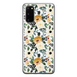 Samsung Galaxy S20 siliconen hoesje - Lovely flower