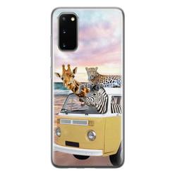Leuke Telefoonhoesjes Samsung Galaxy S20 siliconen hoesje - Wanderlust