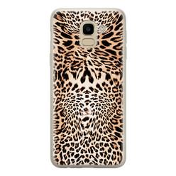 Samsung Galaxy J6 2018 siliconen hoesje - Wild animal