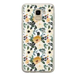 Samsung Galaxy J6 2018 siliconen hoesje - Lovely flower