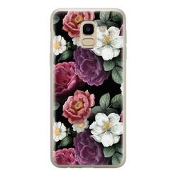 Samsung Galaxy J6 2018 siliconen hoesje - Bloemenliefde