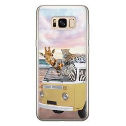 Leuke Telefoonhoesjes Samsung Galaxy S8 siliconen hoesje - Wanderlust