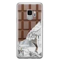 Samsung Galaxy S9 siliconen hoesje - Chocoladereep