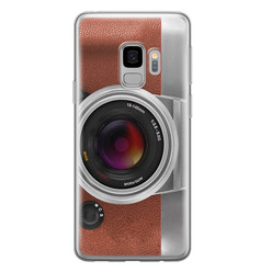 Samsung Galaxy S9 siliconen hoesje - Vintage camera