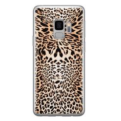 Leuke Telefoonhoesjes Samsung Galaxy S9 siliconen hoesje - Wild animal