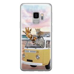 Leuke Telefoonhoesjes Samsung Galaxy S9 siliconen hoesje - Wanderlust