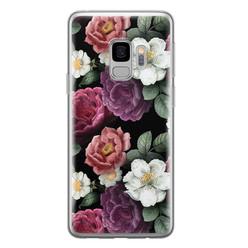 Samsung Galaxy S9 siliconen hoesje - Bloemenliefde