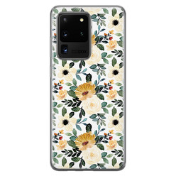 Samsung Galaxy S20 Ultra siliconen hoesje - Lovely flower