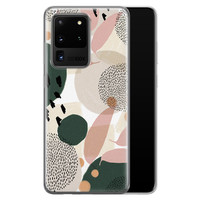 Samsung Galaxy S20 Ultra siliconen hoesje - Abstract print