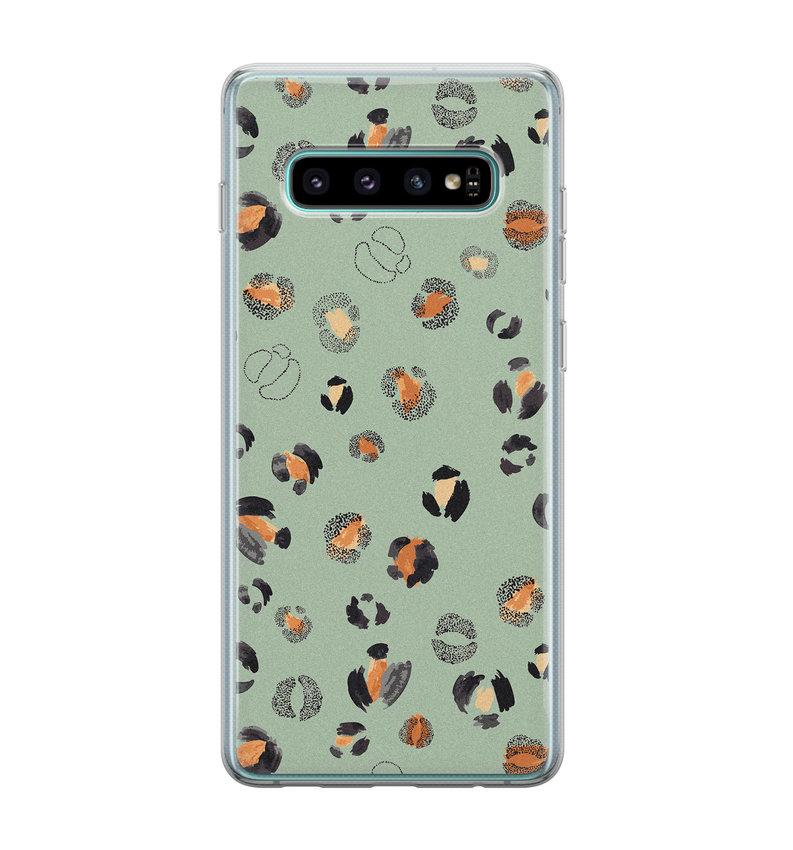Samsung Galaxy S10 siliconen hoesje - Baby leo