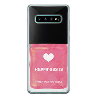 Samsung Galaxy S10 siliconen hoesje - Nagellak