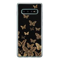 Samsung Galaxy S10 siliconen hoesje - Vlinders