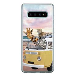 Leuke Telefoonhoesjes Samsung Galaxy S10 siliconen hoesje - Wanderlust
