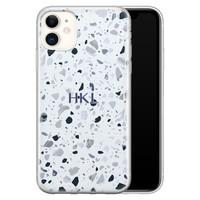 iPhone 11 siliconen hoesje ontwerpen - Terrazzo