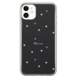 iPhone 11 siliconen hoesje ontwerpen - Starry night