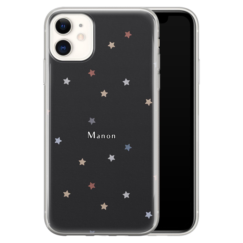 Leuke Telefoonhoesjes iPhone 11 siliconen hoesje ontwerpen - Starry night