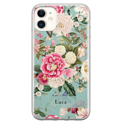 Leuke Telefoonhoesjes iPhone 11 siliconen hoesje ontwerpen - Blooming