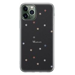 iPhone 11 Pro siliconen hoesje ontwerpen - Starry night