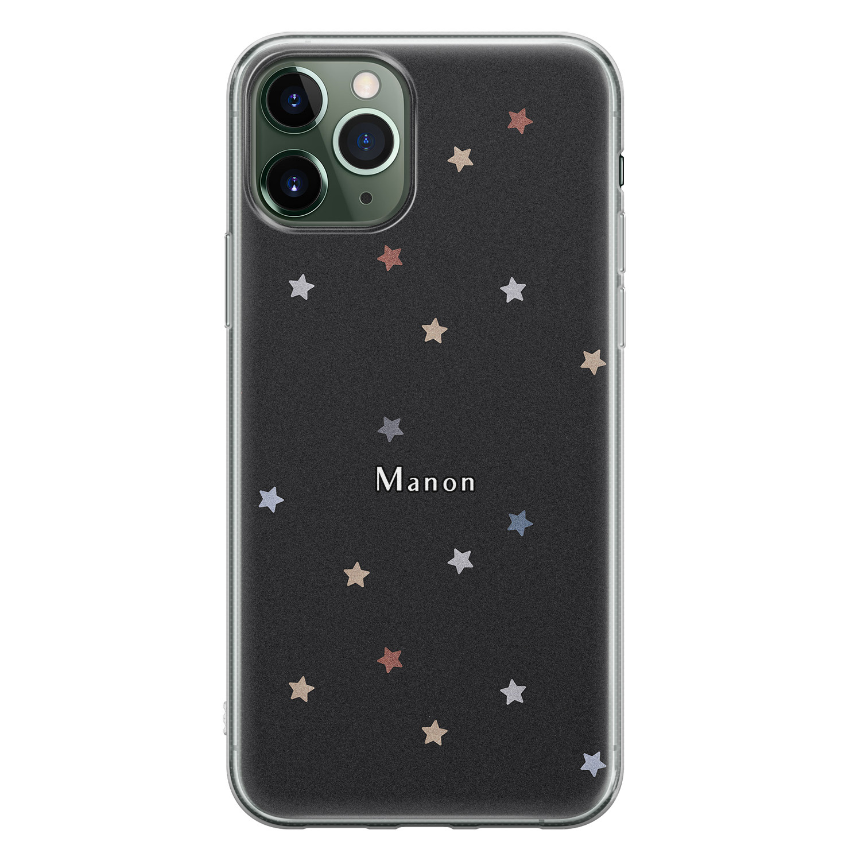 Leuke Telefoonhoesjes iPhone 11 Pro siliconen hoesje ontwerpen - Starry night