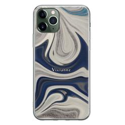 Leuke Telefoonhoesjes iPhone 11 Pro siliconen hoesje ontwerpen - Marmer sand