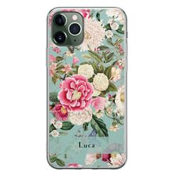 iPhone 11 Pro siliconen hoesje ontwerpen - Blooming